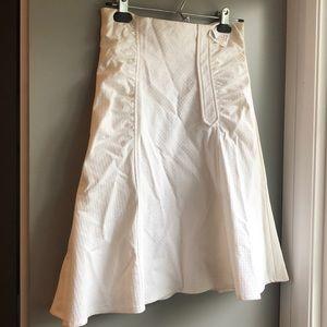 Nanette Lepore 2 white skirt new